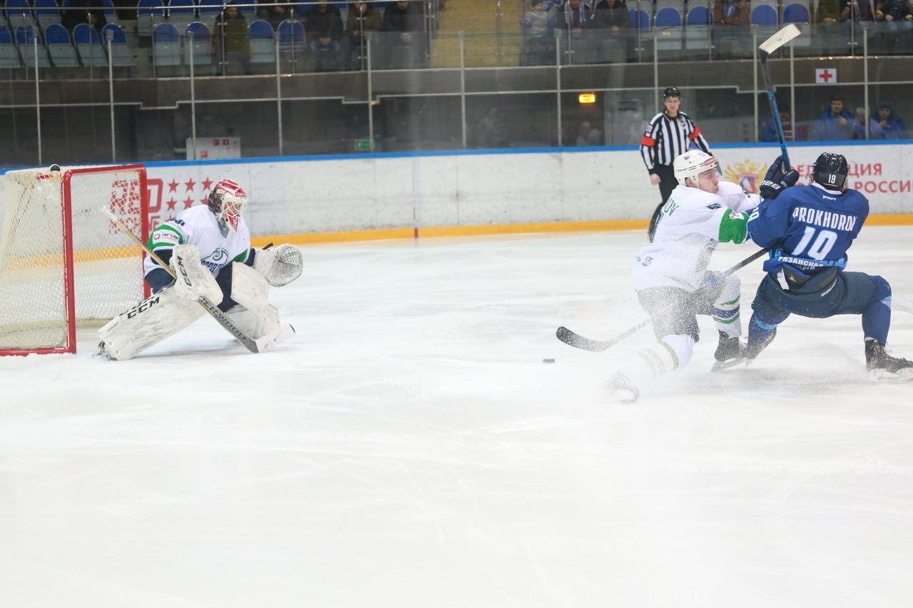 ХК Рязань - Горняк3