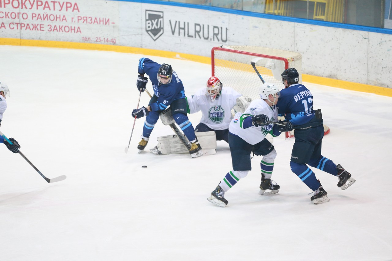 ХК Рязань - Горняк62