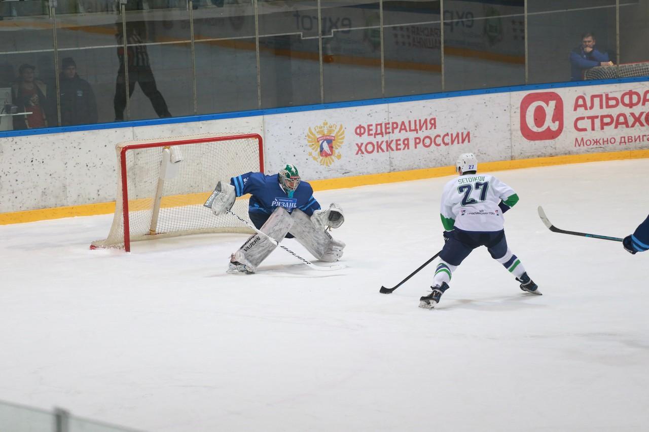 ХК Рязань - Горняк73