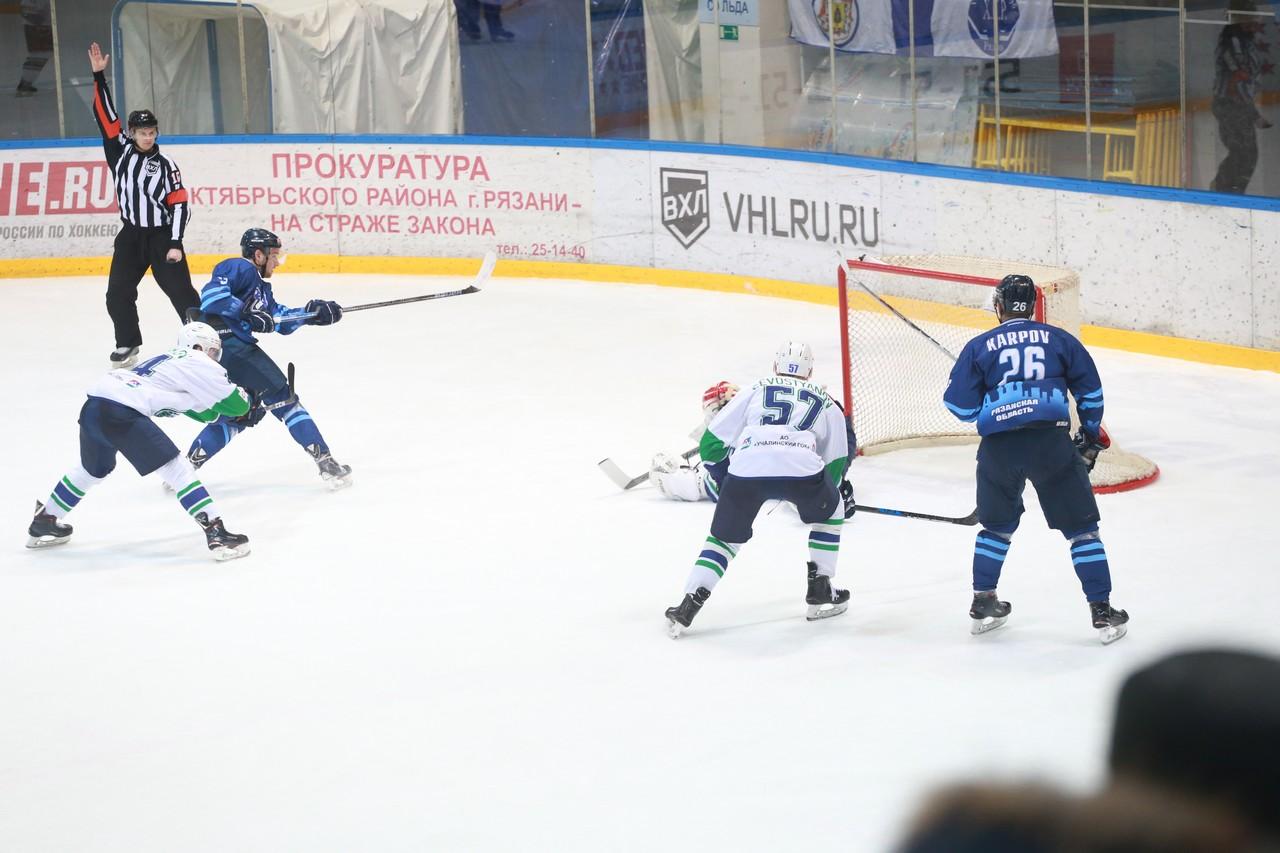 ХК Рязань - Горняк77