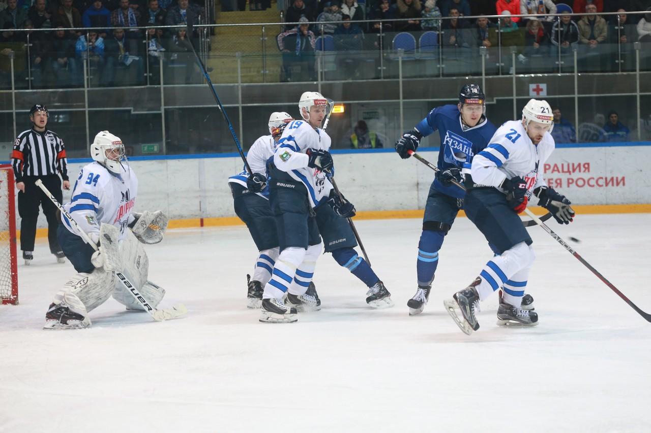 ХК Рязань - Зауралье60
