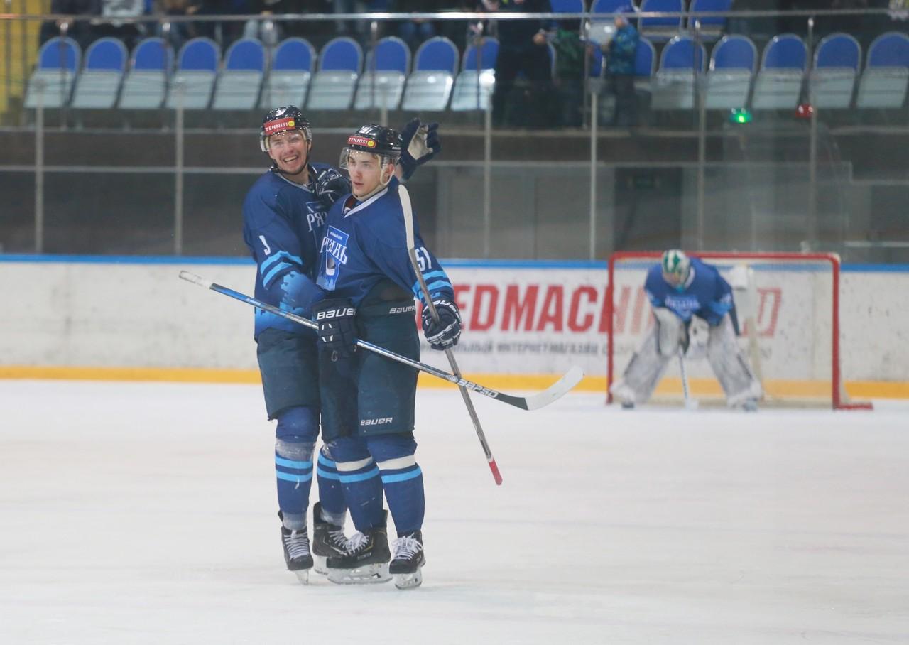 ХК Рязань - Зауралье63