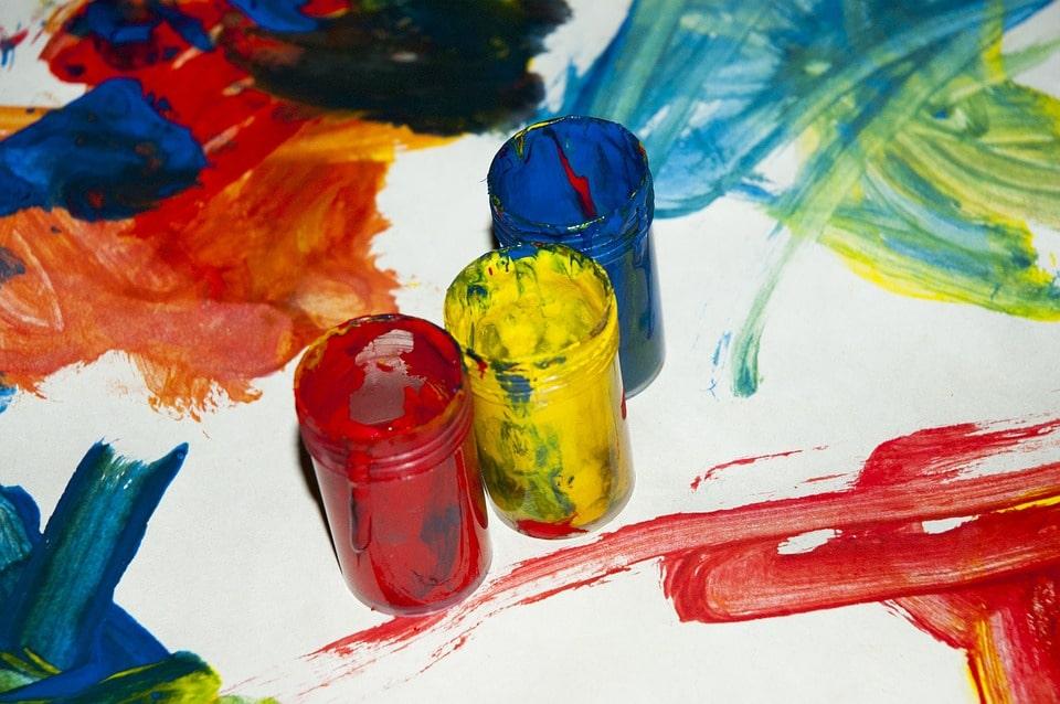 Рисунки из краски гуашь