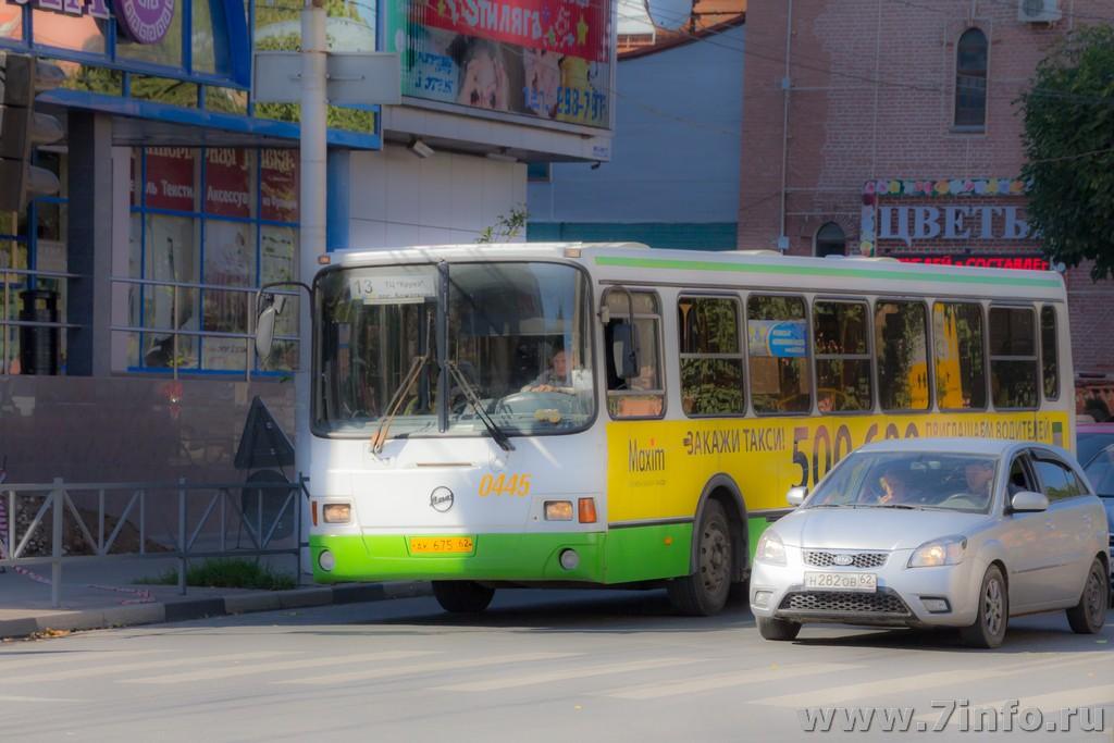 В Рязани изменятся маршруты двух автобусов