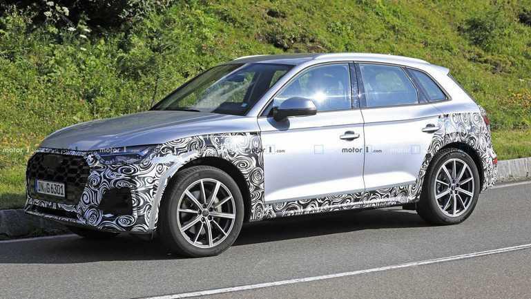 На тестах замечен обновленный Audi Q5