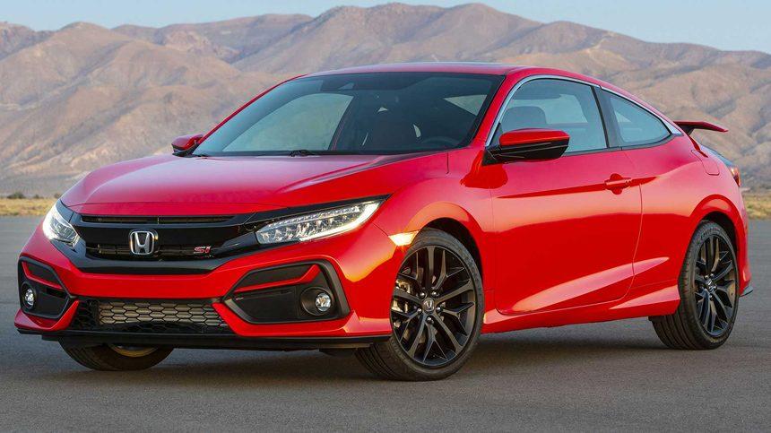 Honda представила обновленный «горячий» Honda Civic Si
