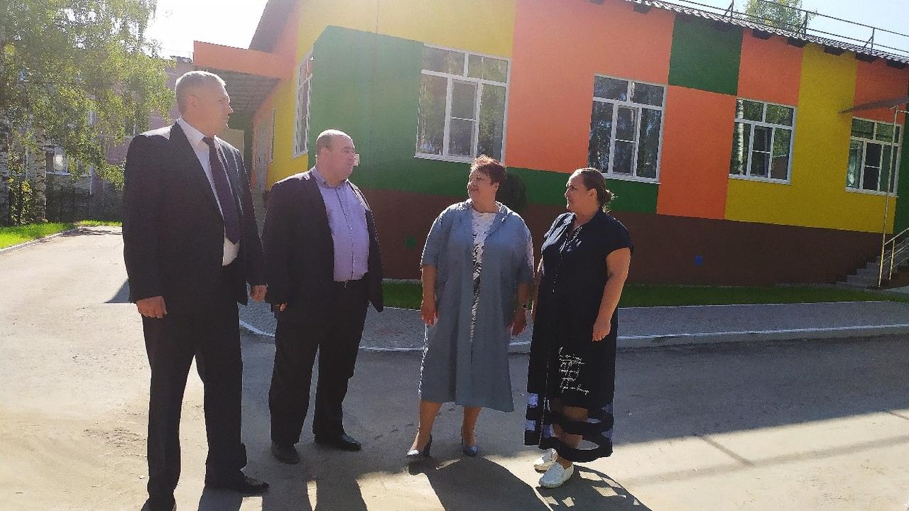 Елена Митина посетила детские сады города Рыбное
