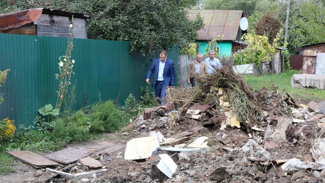 На месте свалки на улице Шевченко появится площадка с архитектурными формами