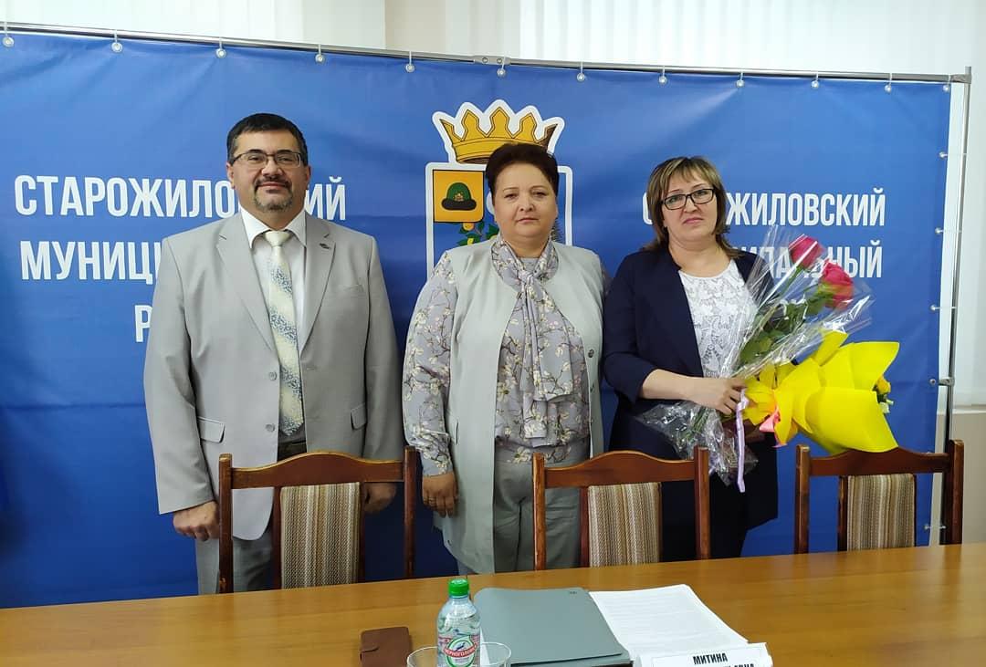 Елена Митина встретилась с депутатами сельских поселений Старожиловского района