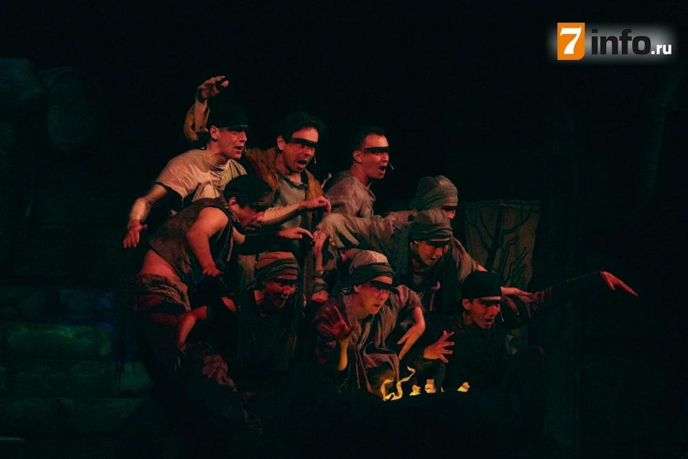 Рязанцы увидели спектакль «Маугли» Вологодского театра кукол