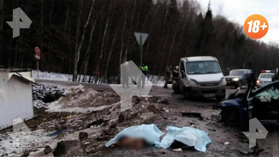 Двое разбились насмерть в ДТП под Москвой