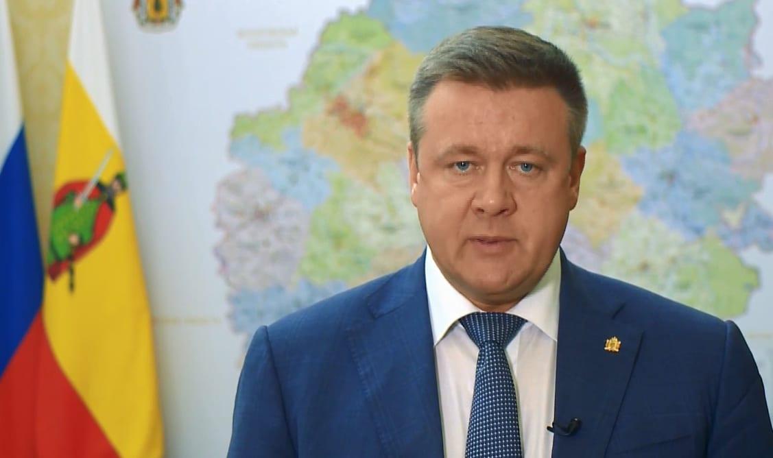 Губернатор дал поручения по вакцинации от коронавируса в Рязанской области