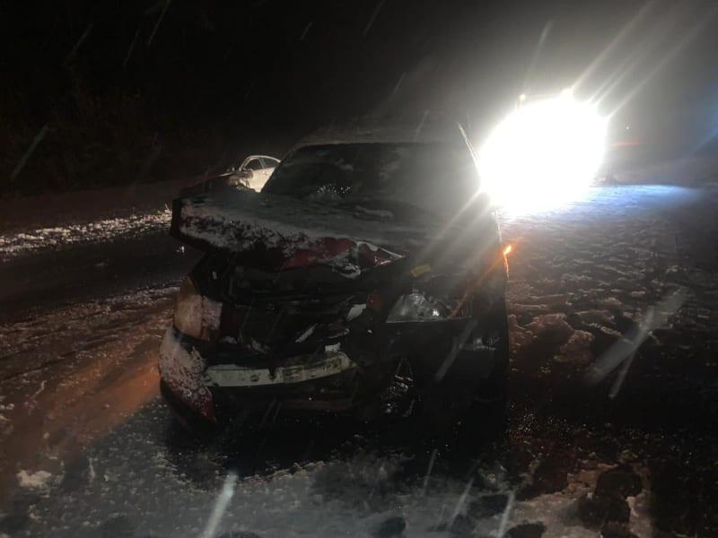 В массовой аварии на трассе М-5 в Рязанской области пострадали три человека, в том числе один ребенок