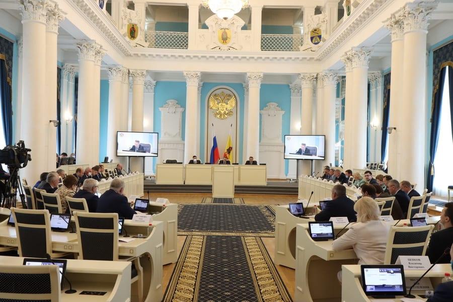 Депутаты Рязанской Облдумы поддержали федеральный законопроект, направленный на исполнение поручений президента