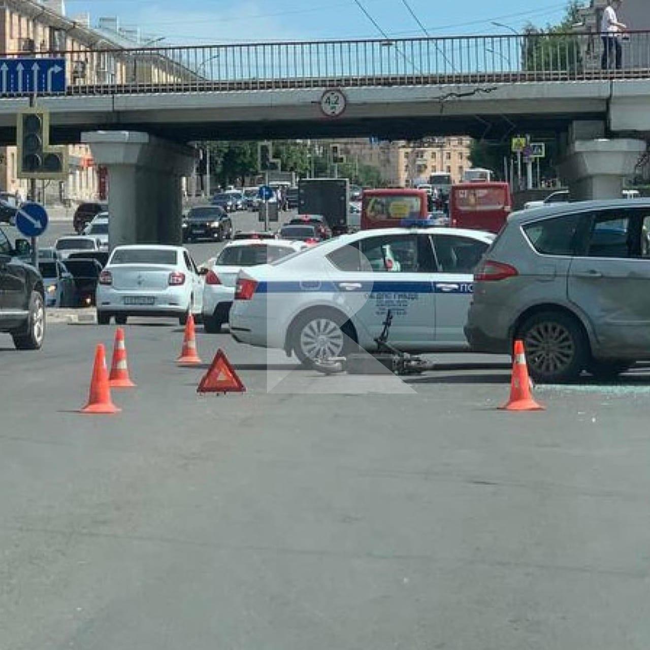 В Госавтоинспекции прокомментировали ДТП с электросамокатом в Рязани